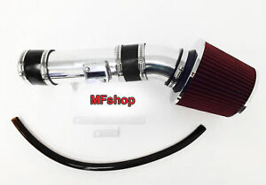 Black Red For 2007 2012 Nissan Altima 3 5l V6 Air Intake System Kit Filter