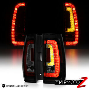 2007 2014 Chevy Tahoe Suburban Sinister Black Led Brake Signal Rear Tail Light