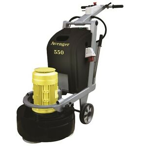 Avenger 550 Concrete Floor Grinder Polisher By Levetec