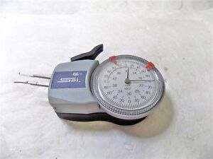 Spi Mechanical Internal Dial Caliper Gage 0 1 1 2 Range 0002 Grad 15 508 5