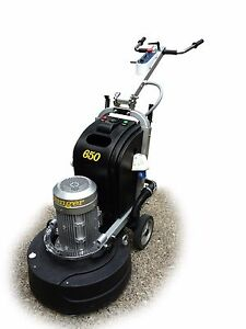 Avenger 650 Concrete Floor Grinder polisher By Levetec
