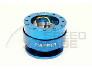 Nrg Steering Wheel Gen 2 0 Quick Release Blue Body Blue Ring Srk 200bl