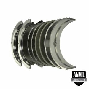 New Main Bearings std Case International Tractor 454 464 540 With D179 Eng