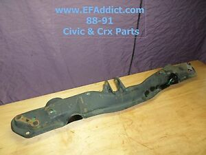 88 91 Honda Civic Hatch Crx Dx Si Oem Traction Bar D16a6 D15b2 Usdm