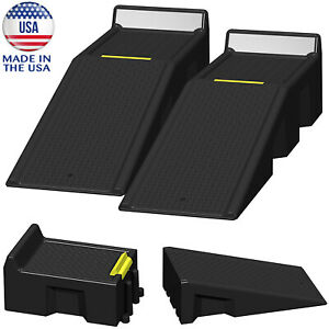 Automotive Ramp System 16000 Lbs Portable Car Truck Vehicle Lift Gross Weight