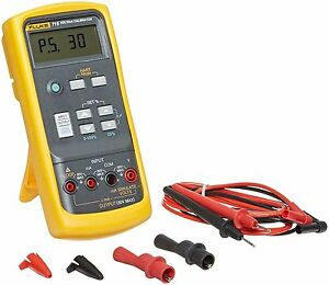 Fluke 715 Volt ma Loop Calibrator 0mv To 200mv Range Source Voltage To 100 Mv