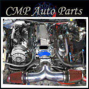 Blue Red 1994 1996 Chevrolet Impala Ss Caprice 4 3l 5 7l V8 Dual Air Intake Kit