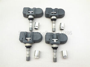 4x New Mercedes Benz Smart A0009057200 Oem Original Tire Pressure Sensor Tpms