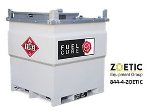 Western Global Fcp250 Fuelcube 250gallon Stationary Fuel Storage Tank W pump Kit
