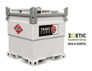 Western Global 10tcg Transcube 258 Gallon Transportable Fuel Storage Tank