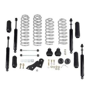 Rubicon Express 2 5 Inch Standard Coil Lift Kit With Twin Tube Shocks Re7121t