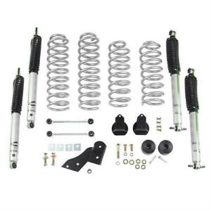 Rubicon Express 2 5 Inch Standard Coil Lift Kit With Mono Tube Shocks Re7141m