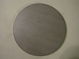 1 8 Steel Plate Disc Shaped 6 Diameter 125 A1011 Steel Round Circle