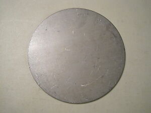 1 8 Steel Plate Disc Shaped 9 Diameter 125 A36 Steel Round Circle
