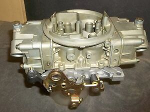 650 Holley Double Pumper Carb 4777 2 Crnr Idle Reman Engine Tested New Base