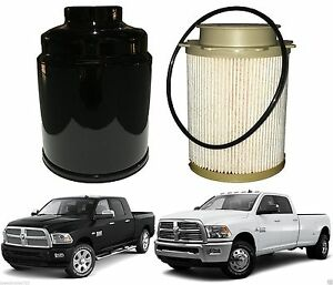 Fuel Filter Water Separator For 2013 2017 Ram 6 7 Cummins New Free Shipping