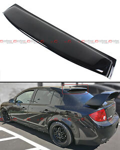 For 2005 2010 Chevy Cobalt 4dr Sedan Glossy Blk Rear Window Roof Visor Spoiler
