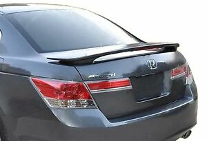 Unpainted Rear Wing Spoiler For A Honda Accord 4 door Factory 2008 2012