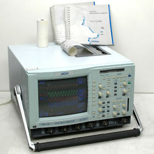 Lecroy Dda 120 Disk Drive Analyzer 4 chan Oscilloscope 1ghz 8gs s With Manuals