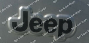 Tj Xj Jk Jeep Wrangler Replacement Fender Decals Stickers Offroad 4x4 1 Set 2