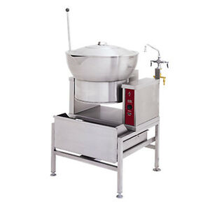 Market Forge R 1600 e 16 Gallon Capacity Countertop Electric Tilting Skillet