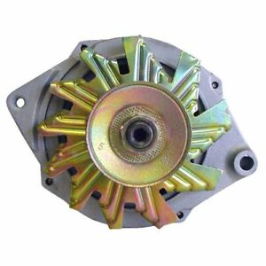 Alternator Tractor 1 wire 10si 63 Amp With Thin 1 2 Pulley