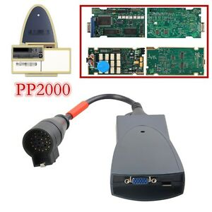 Pp2000 For Citroen peugeot Car Diagnostic Tool With Diagbox V7 83 Full Chip