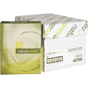 Nature Saver Recycled White Copy Paper Nat42705