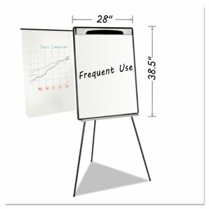 Mastervision Magnetic Gold Ultra Dry Erase Tripod Easel W Ext Bvcea23062119