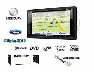 Ford Mercury Touchscreen Bluetooth Gps Dvd Usb Radio Sirius Xm Ready Stereo Kit