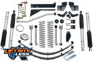 Rubicon Express 5 5 In Short Arm Lift Kit Shks 83 01 Jeep Cherokee Xj Re6200m