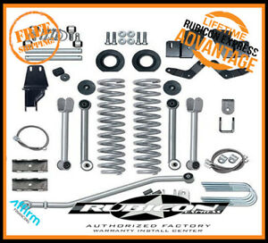 Rubicon Express 5 5 In Short Arm Lift Kit Soa 86 92 Jeep Comanche Mj Re6500
