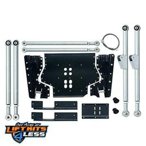 Rubicon Re7231 Ed Long Arm Suspension Upgrade Lift Kit For 97 06 Jeep Tj
