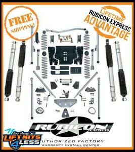 Rubicon 5 5 In Long Arm Lift Kit R Tri T Shks 97 06 Jeep Wrangler Tj Re7515m