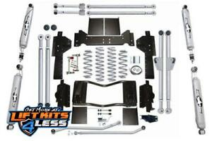 Rubicon Express 4 5 Long Lift Kit Twin T Shks 93 98 Grand Cherokee Zj Re8300t