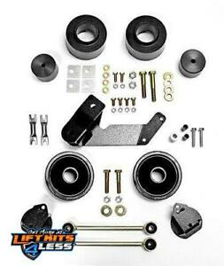 Rubicon Express 2 5 In Spacer Lift Kit 07 17 Jeep Wrangler Jk 2 4 Door Re7133e
