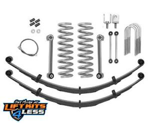 Rubicon Express Re6026 3 5 Super Ride Suspension Lift Kit For 83 01 Cherokee Xj