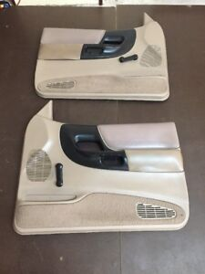 Ford Ranger Manual Door Panels Tan Set 1995 2001 Oem