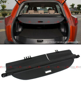For 2013 2017 Toyota Rav4 Suv Retractable Trunk Cargo Cover Luggage Shade Shield