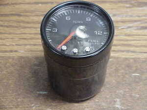 Pro Parts Spek 2 1 16 0 15 Psi Fuel Pressure Gauge Black Jh18 Nascar
