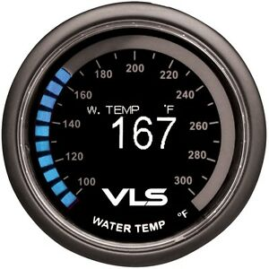 Revel Vls Water Temperature Gauge 52mm 100 f To 300 f Digital Oled Display
