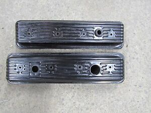 Genuine Gm Camaro Trans Am Corvette Lt1 Oem Valve Covers Good Used 3b7