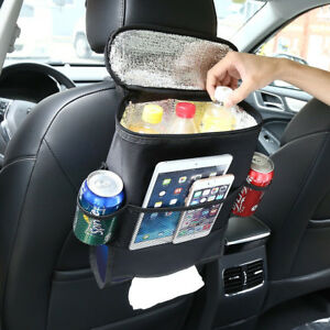 Car Auto Back Seat Organizer Holder Multi Pocket Travel Storage Bag Hang