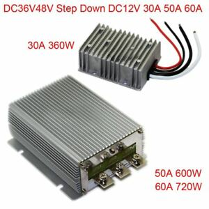 Dc36v48v Step Down 12v 30a 50a 60a Power Supply Converter Module Waterproof New