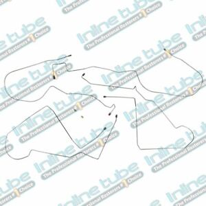 1998 02 Chevrolet Chevy Camaro Front To Rear Brake Lines 2pc Kit Set Tubes Oe