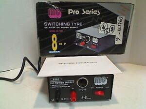 Mg Pro Series Switching Type Of 13 8v Dc Power Supply 8 Amp Surge Ps8c
