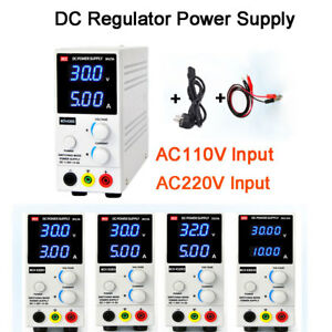 Variable Dc Power Supply Adjustable Regulator 2 Digital Display High Precision