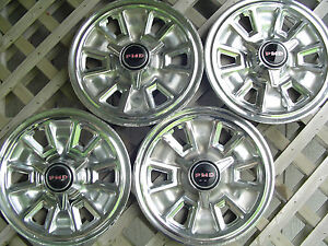 1967 67 Pontiac Tempest Gto Lemans Bonneville Star Chief Hubcaps Wheel Covers
