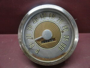 1947 1948 Stewart Warner Ford Car Speedometer Loc A01 C11