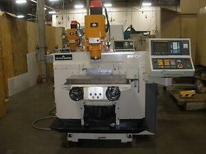 Leblond Makino Rmc55 Cnc Mill Fanuc Om W Video